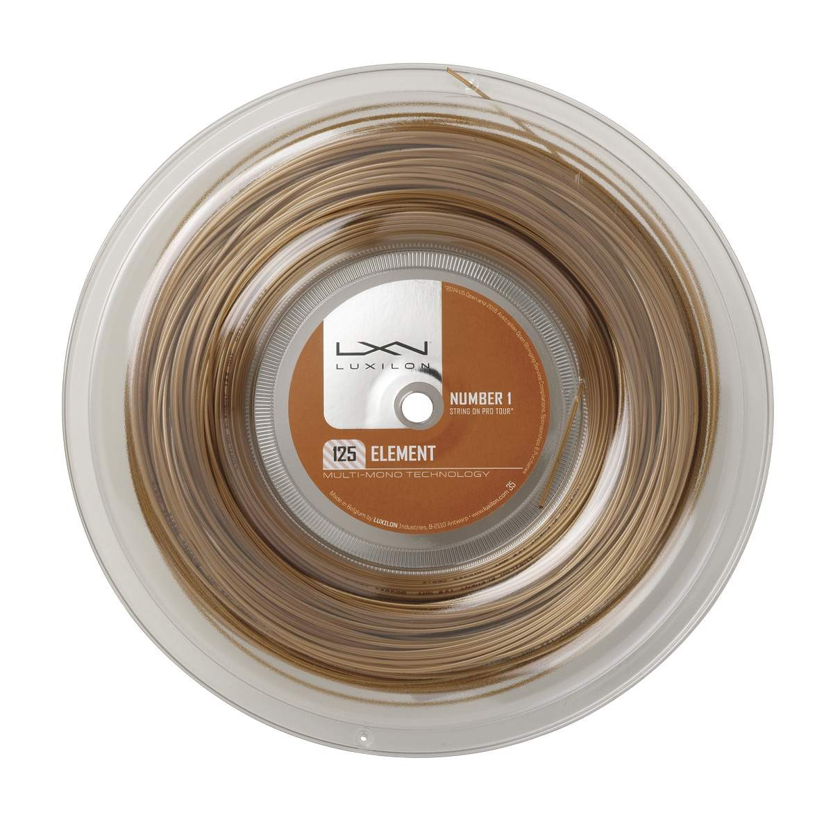 Luxilon Element 200m 1,25mm Reel Gold