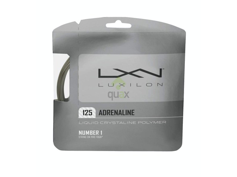 Luxilon Adrenaline 12,2m 1,35mm Set Silver