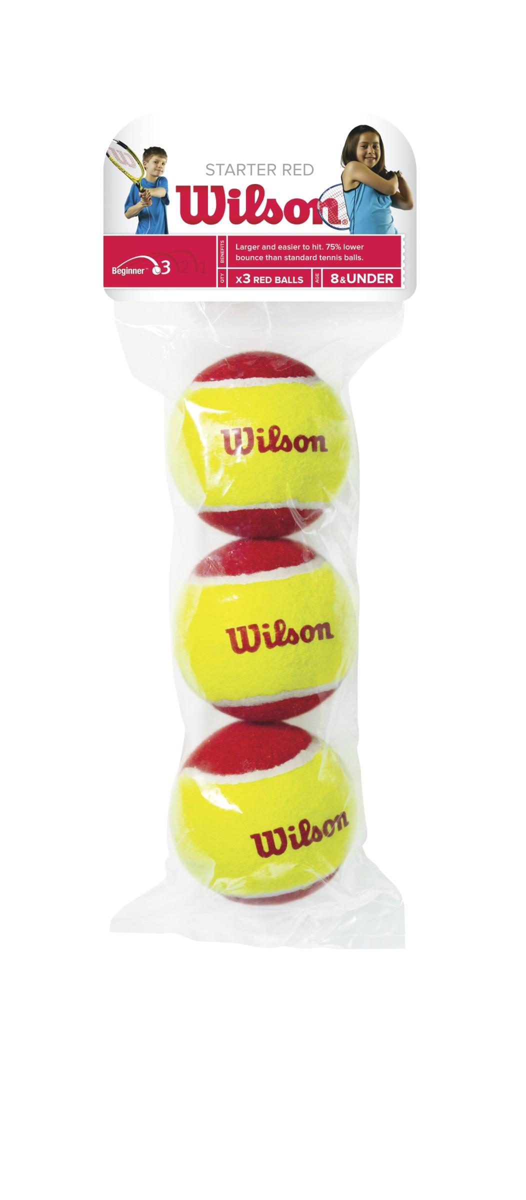 Wilson Starter Red X3