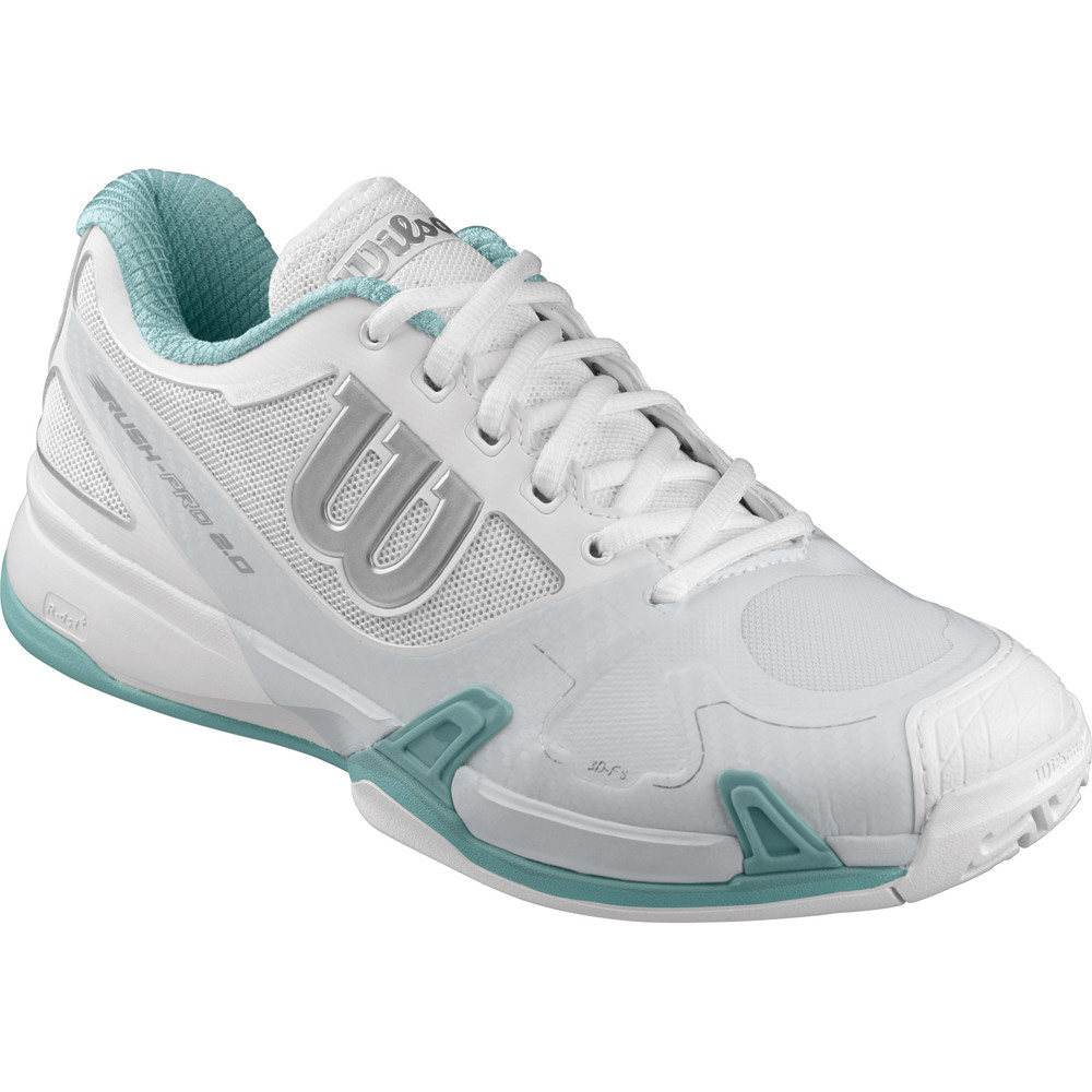 Wilson Rush Pro 2.0 All Court Women White 39