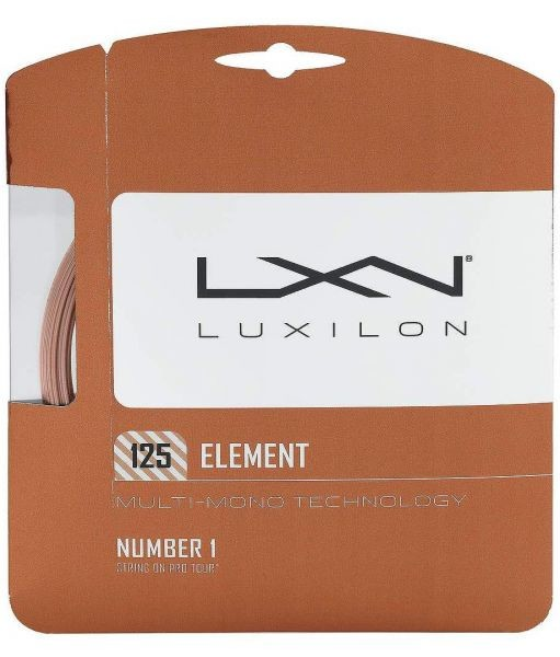 Luxilon Element 12,2m 1,25mm Set Orange