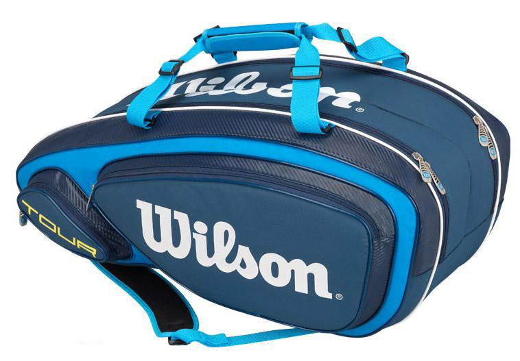 Wilson Tour V 9 Pack Blue