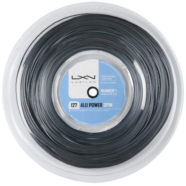 Luxilon Alu Power Spin 220m 1,27mm Reel Grey