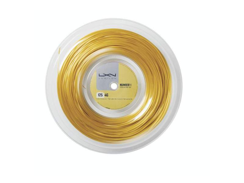 Luxilon 4G 200m 1,25mm Reel Go Yellow