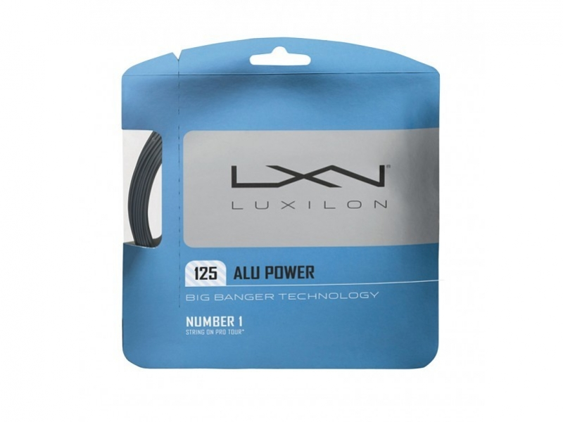 Luxilon Alu Power 12,2m 1,38mm Set Silver