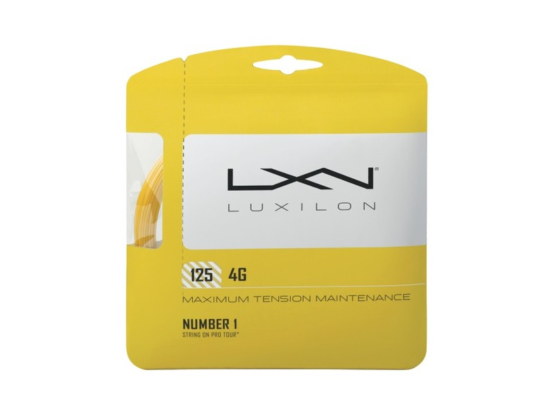 Luxilon 4G 12,2m 1,25mm Set Go Yellow