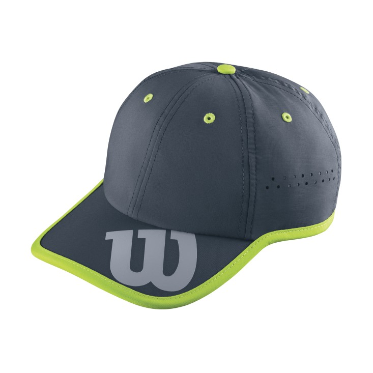 Wilson Baseball Hat Grey