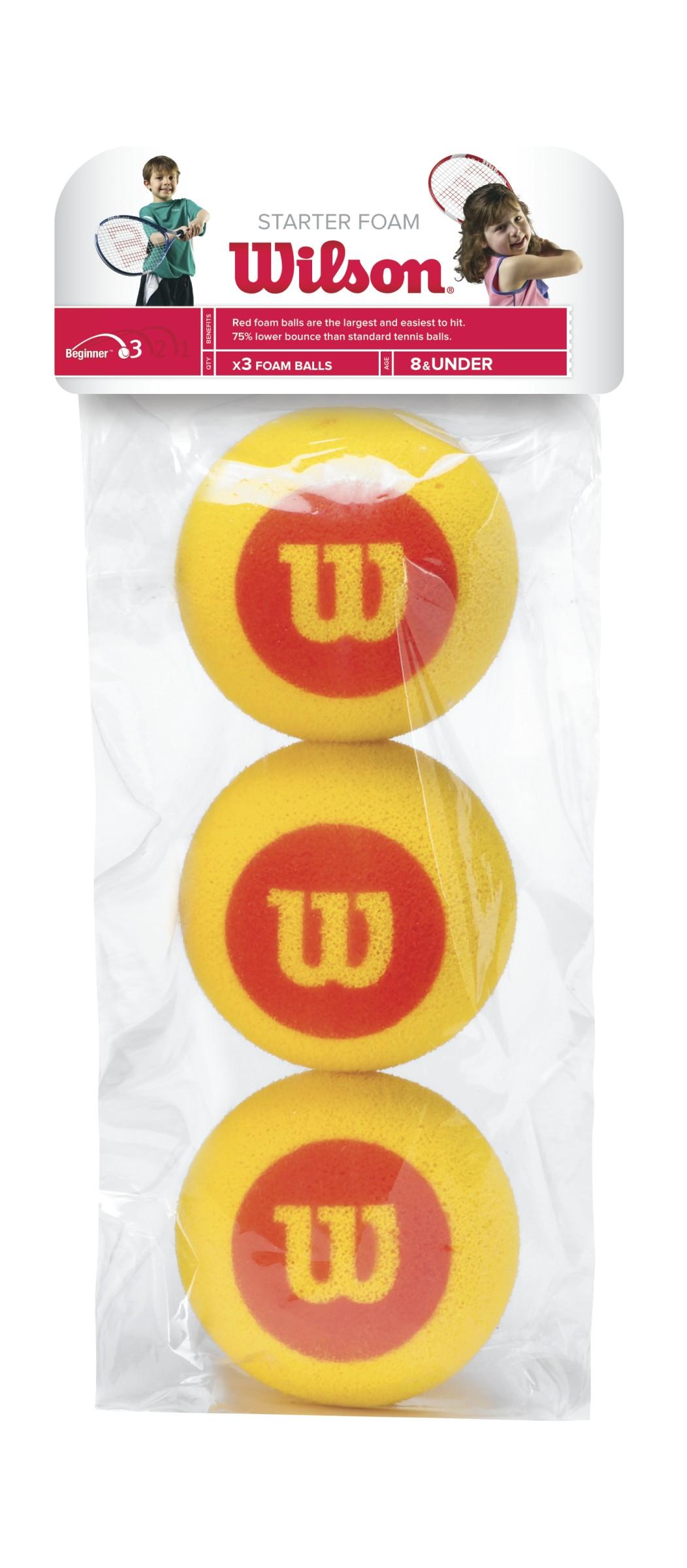Wilson Starter Foam Balls X3