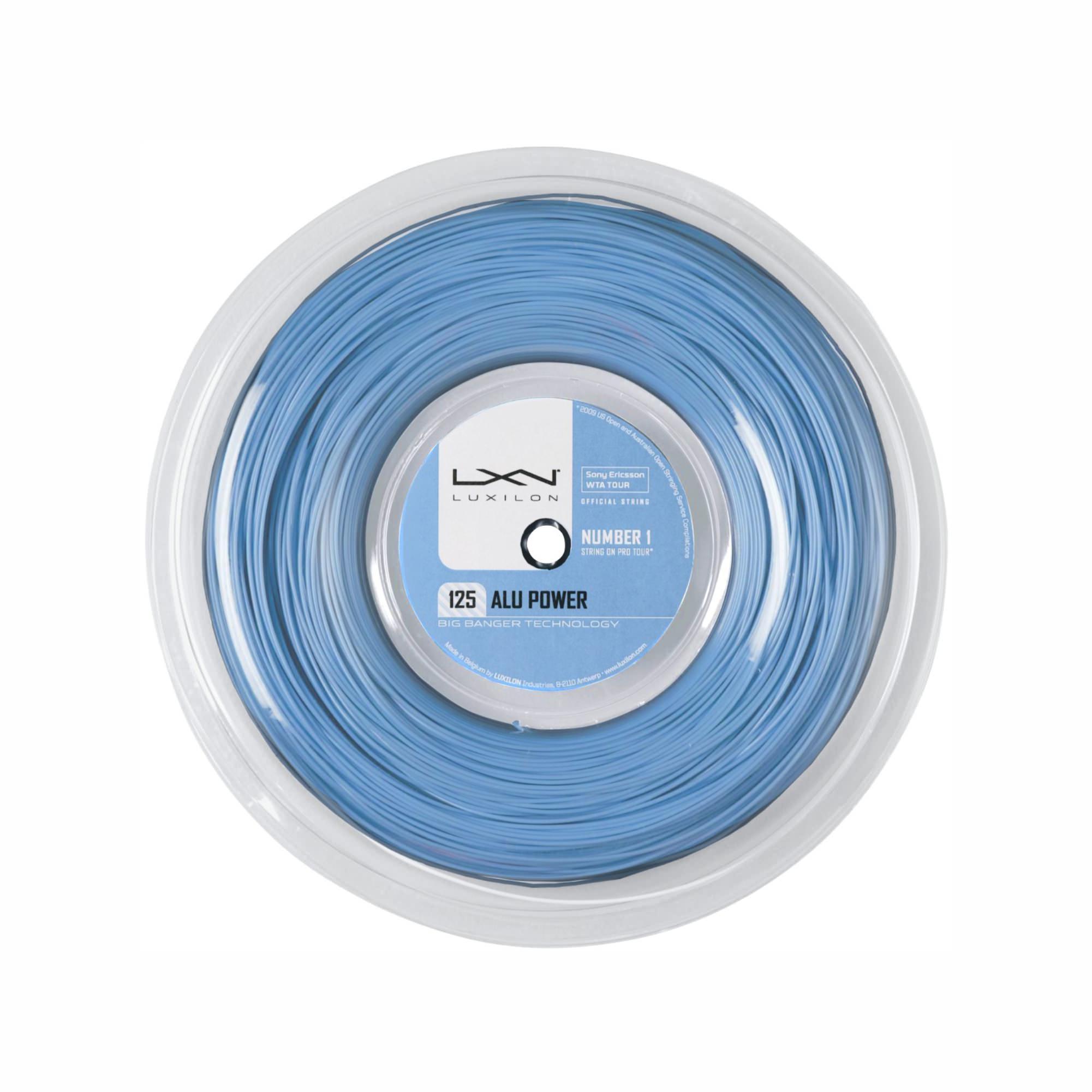Luxilon Alu Power 125 220M Ice Blue
