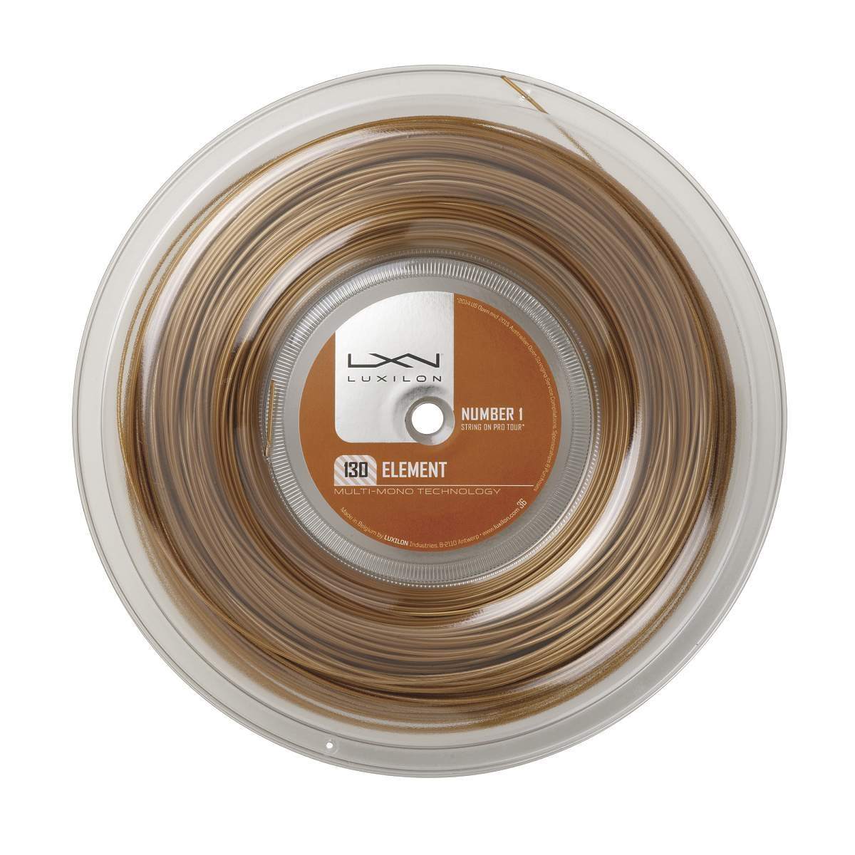 Luxilon Element 200m 1,30mm Reel Gold