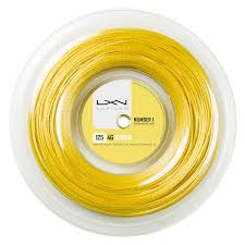 Luxilon 4G Rough 200m 1,25mm Reel Yellow