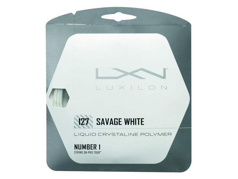 Luxilon Savage 12,2m 1,27mm SET White