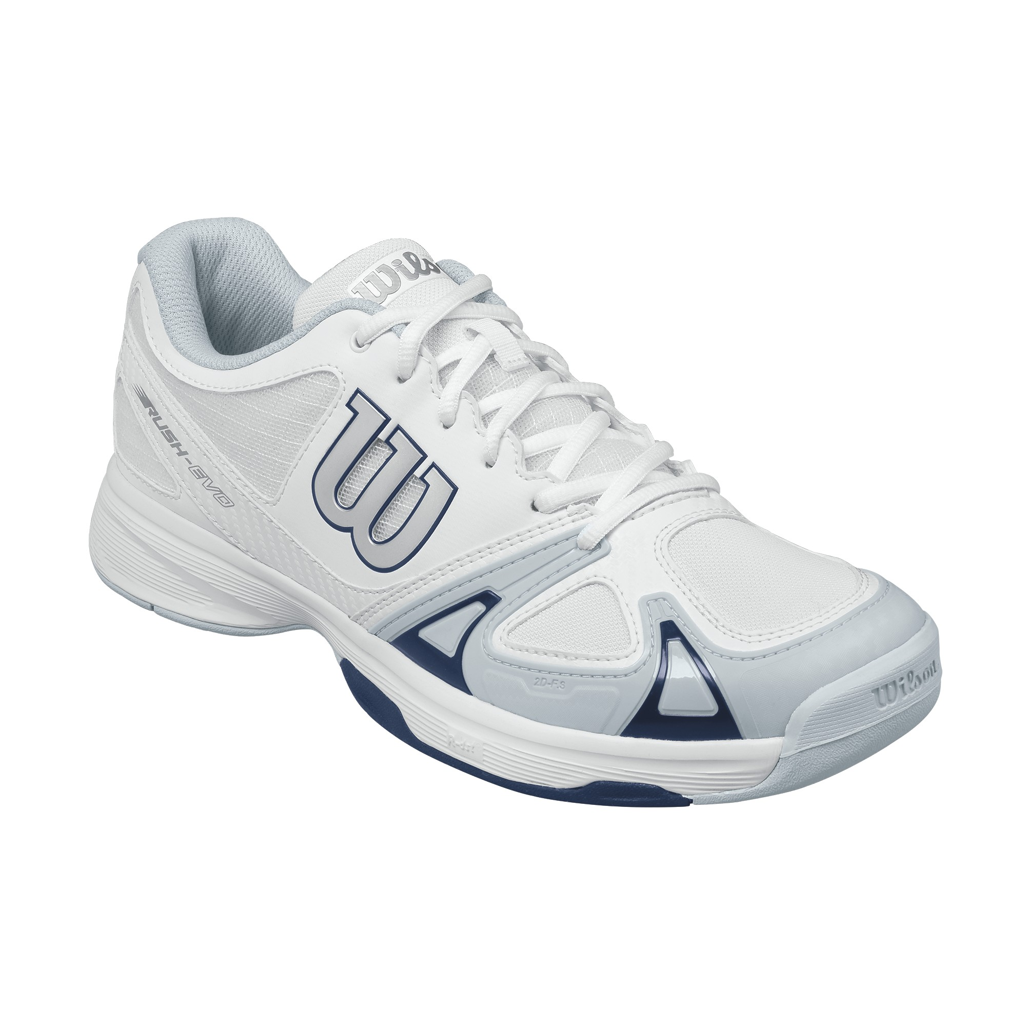 Wilson Rush Evo All Court Men White 2017 42,6