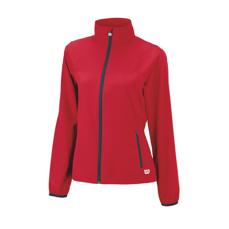 Wilson Team Woven Jacket Red W L