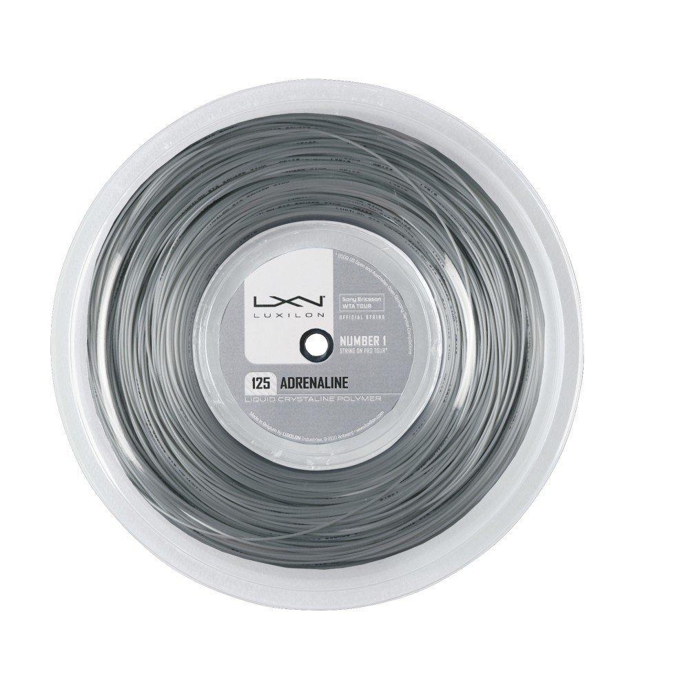 Luxilon Adrenaline 125 200M Reel Silver