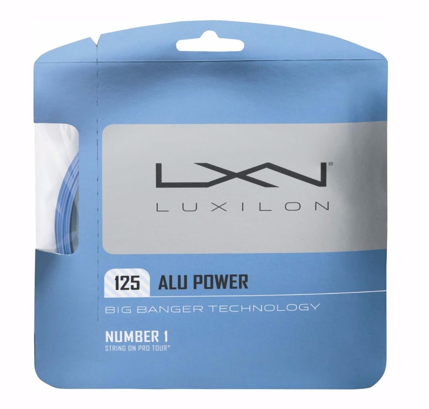 Luxilon Alu Power 125 Ice Blue