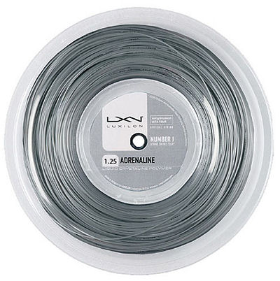 Luxilon Adrenaline 200m 1,35mm Reel Silver
