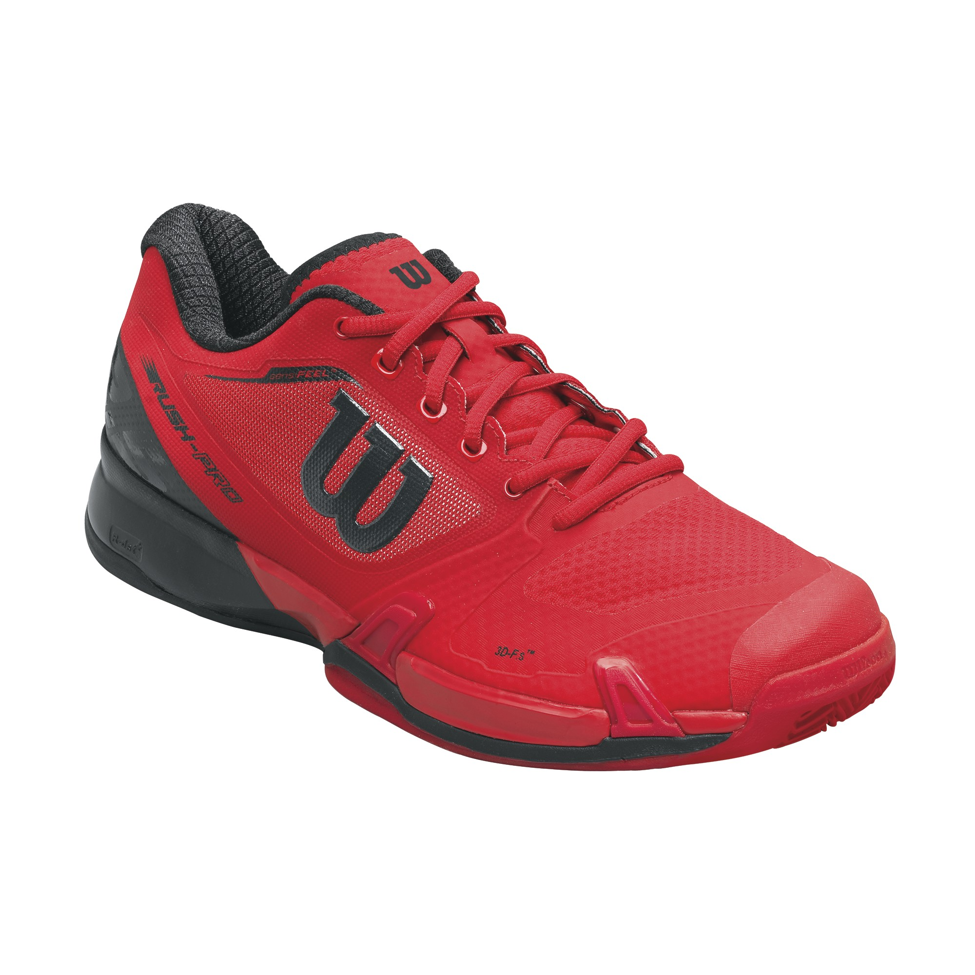 Wilson Rush Pro 2.5 Clay Men Red 44,6
