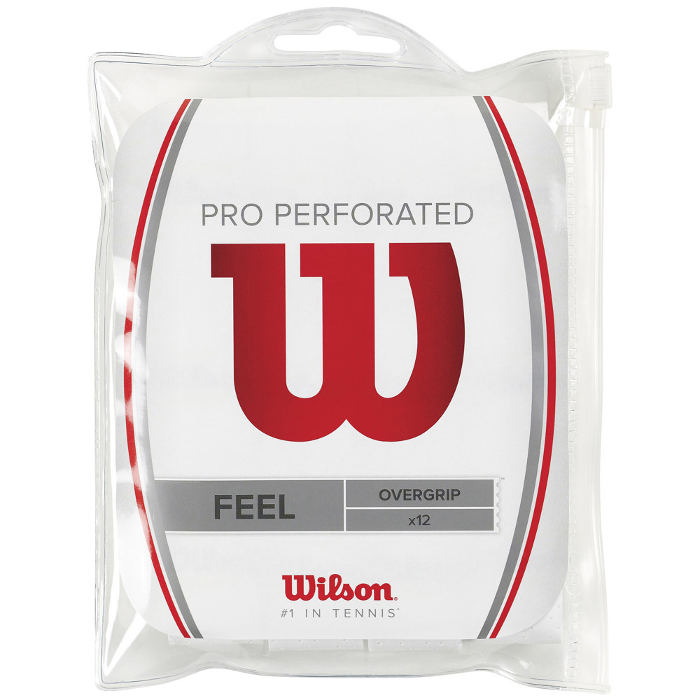 Wilson Pro Overgrip Perforated X12