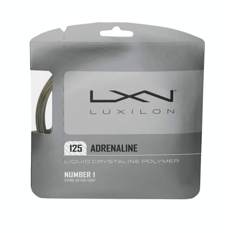 Luxilon Adrenaline 12,2m 1,25mm Set Silver