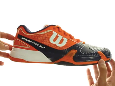 Wilson Rush Pro 2.0 Clay Men Orange