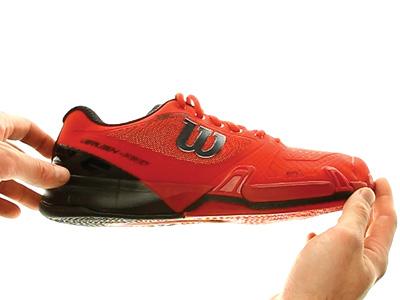 Wilson Rush Pro 2.5 Clay Men Red