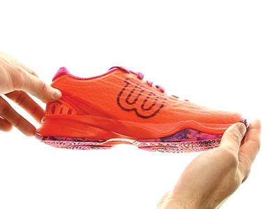 Wilson Kaos Clay Women Orange