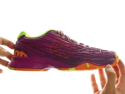 Wilson Kaos Clay Women Purple